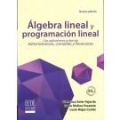 Álgebra Lineal Y Programación Lineal